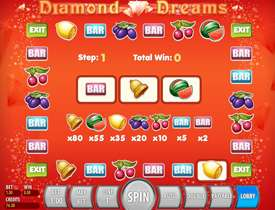 Бонус игра в Diamond Dream