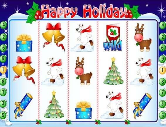 Игровой автомат happy holiday village электронные